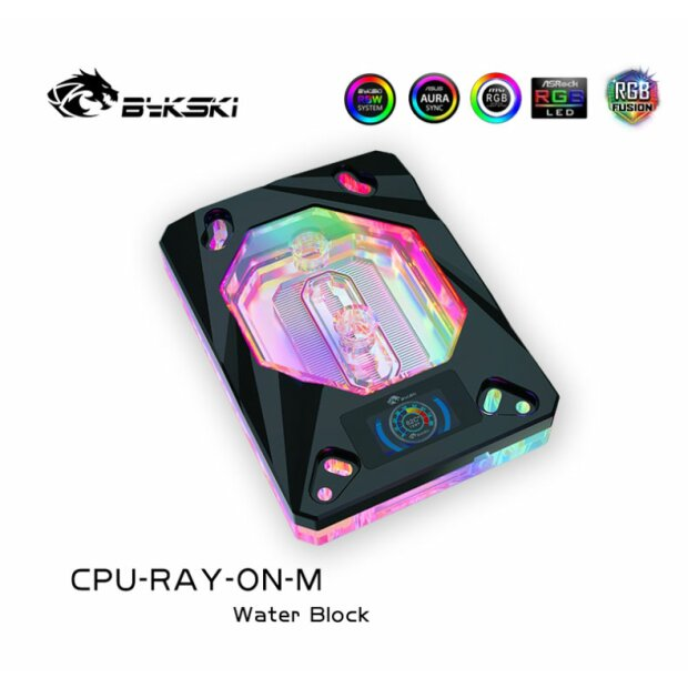CPU-RAY-ON-M Black